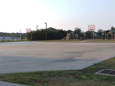 Full size basketball courts