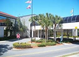 A photo of the front of Port Orange City Hall