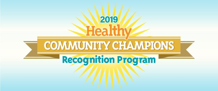 Healthy Community Champion 2019 Image