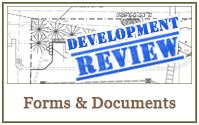 Development Review forms and documents link.